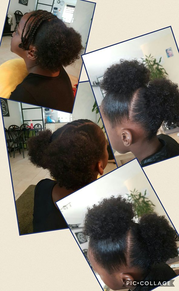 going natural hair care for girls zoe gymnast3