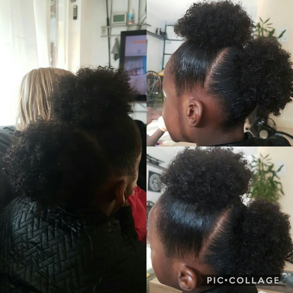 going natural hair care for girls zoe gymnast4