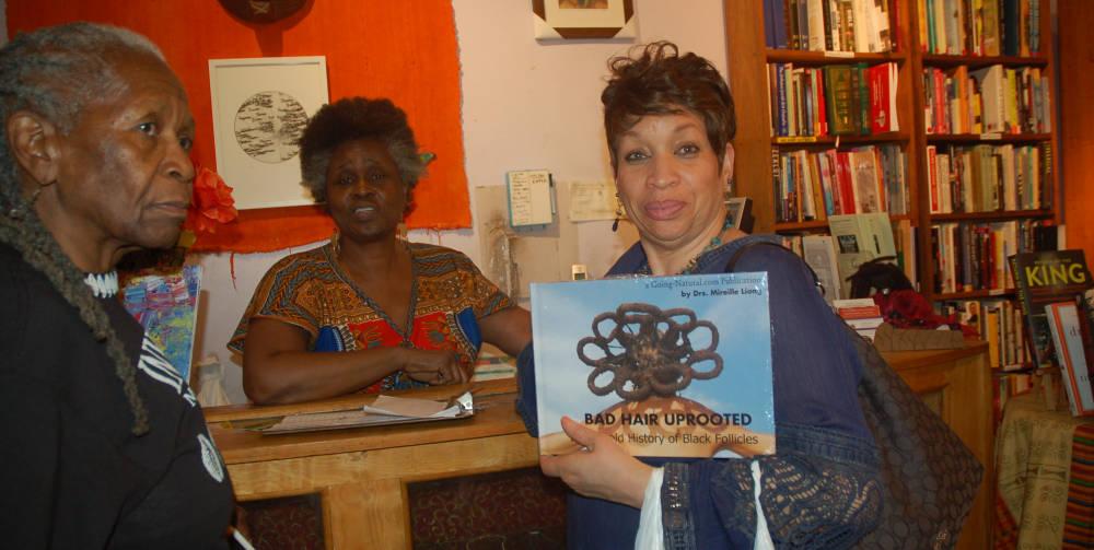 Black Follicles Matter Bad Hair Uprooted Book talk