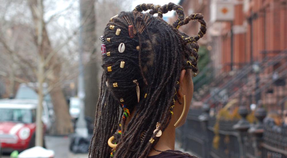 My Wakanda hairstyle