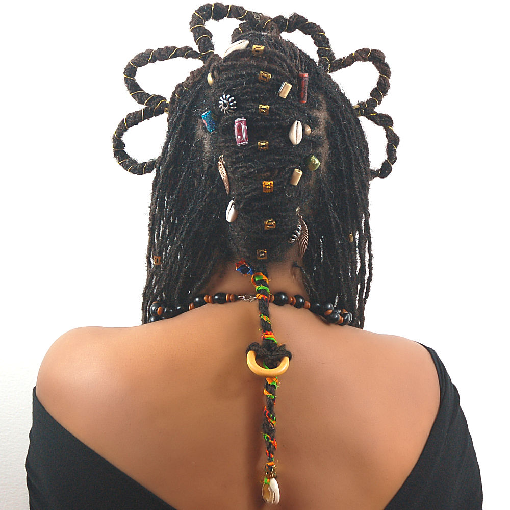 Braidlocs Wakanda style