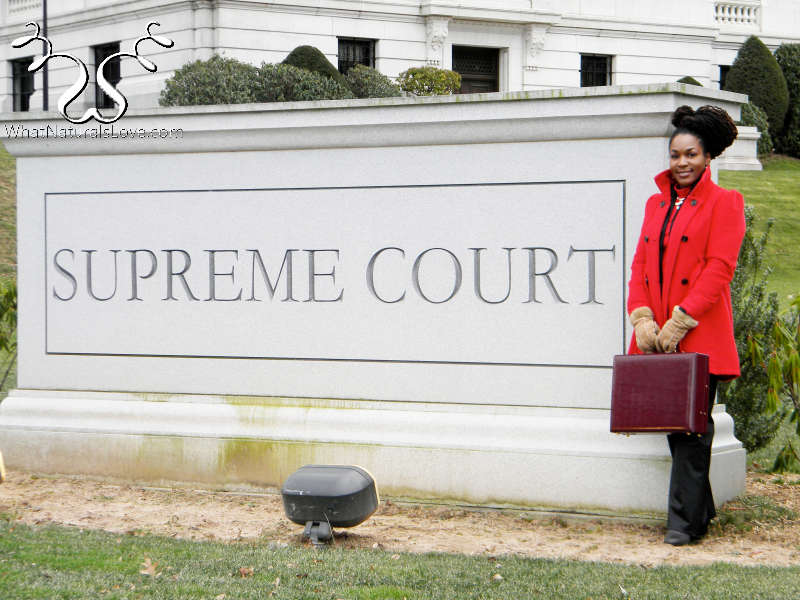 Dreadlocks at the supreme court