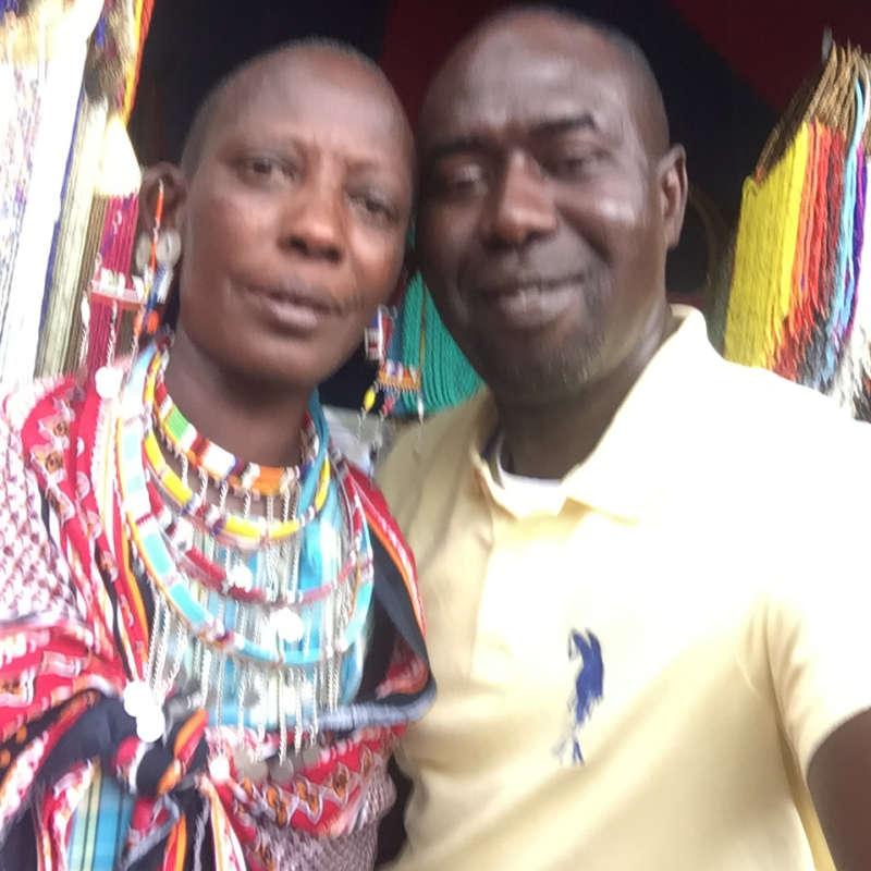 Lamin vendor of African Art