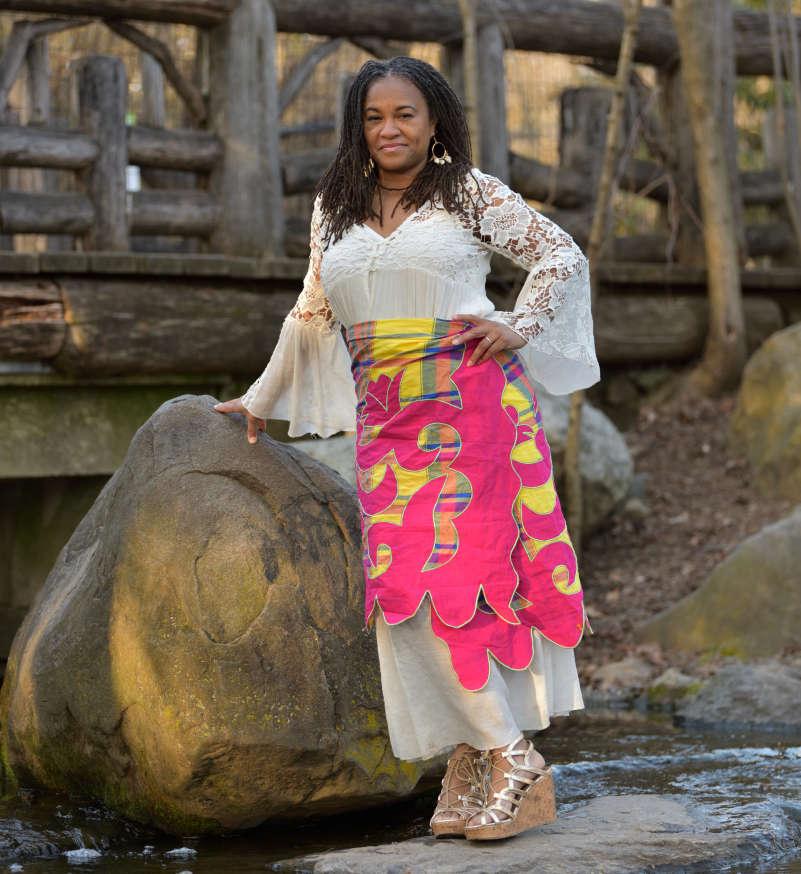Mireille Liong pangi wrap dress