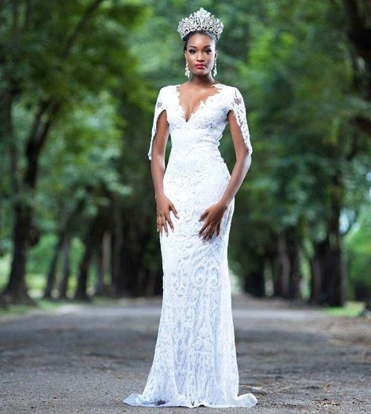 davina Miss Jamiaca natural