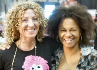 IBS NY With Lorraine Massey author of Curly Girl
