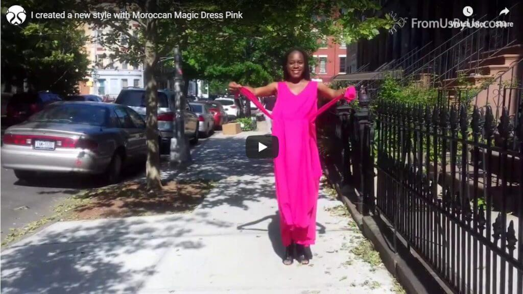 Moroccan Magic Dress Video