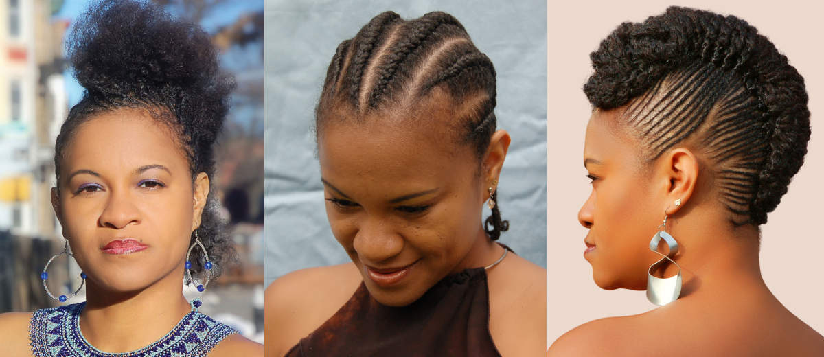Cornrows Flat Twists Fro hawk Mireille Liong