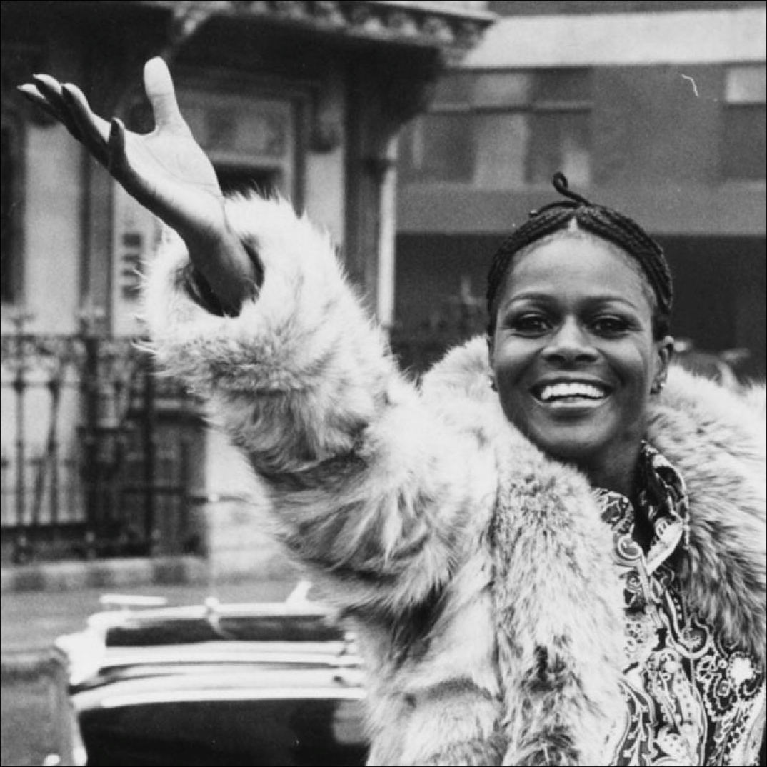 Cicely Tyson with cornrows