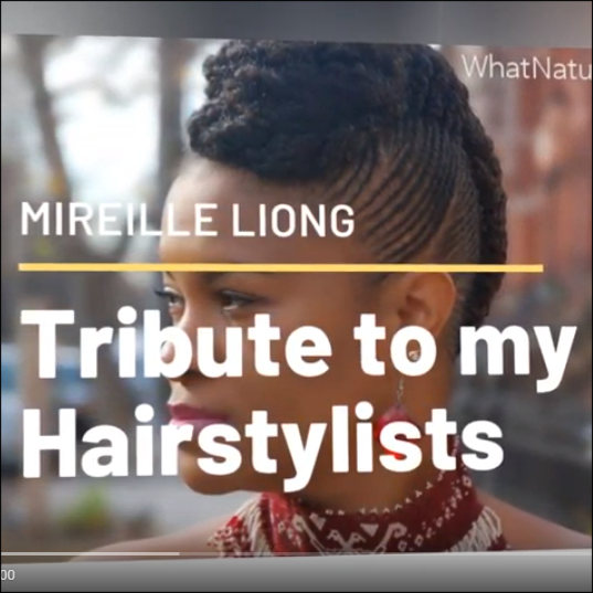 Tribute to the Natural Hairstylists