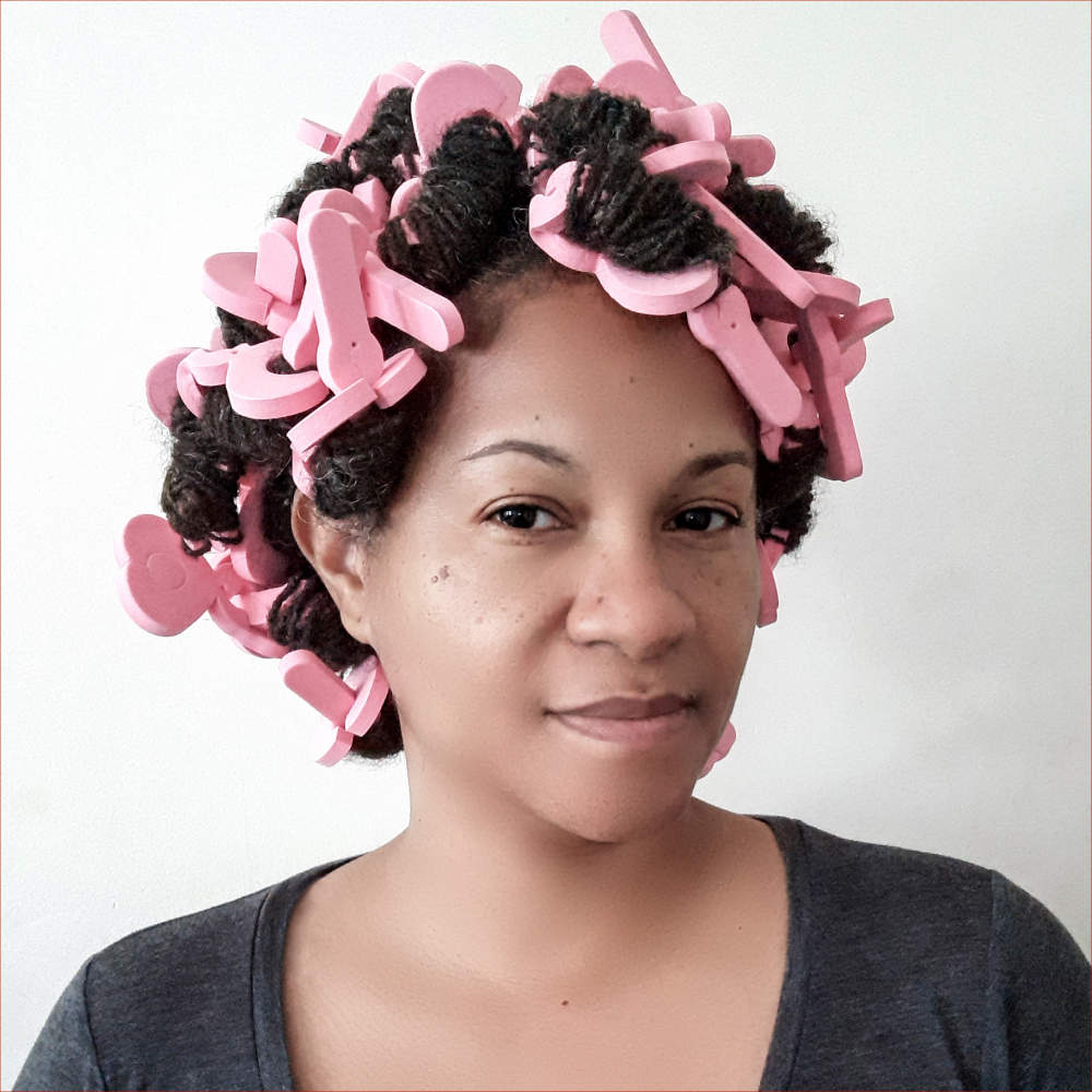Loc curlers for natural hair and locs