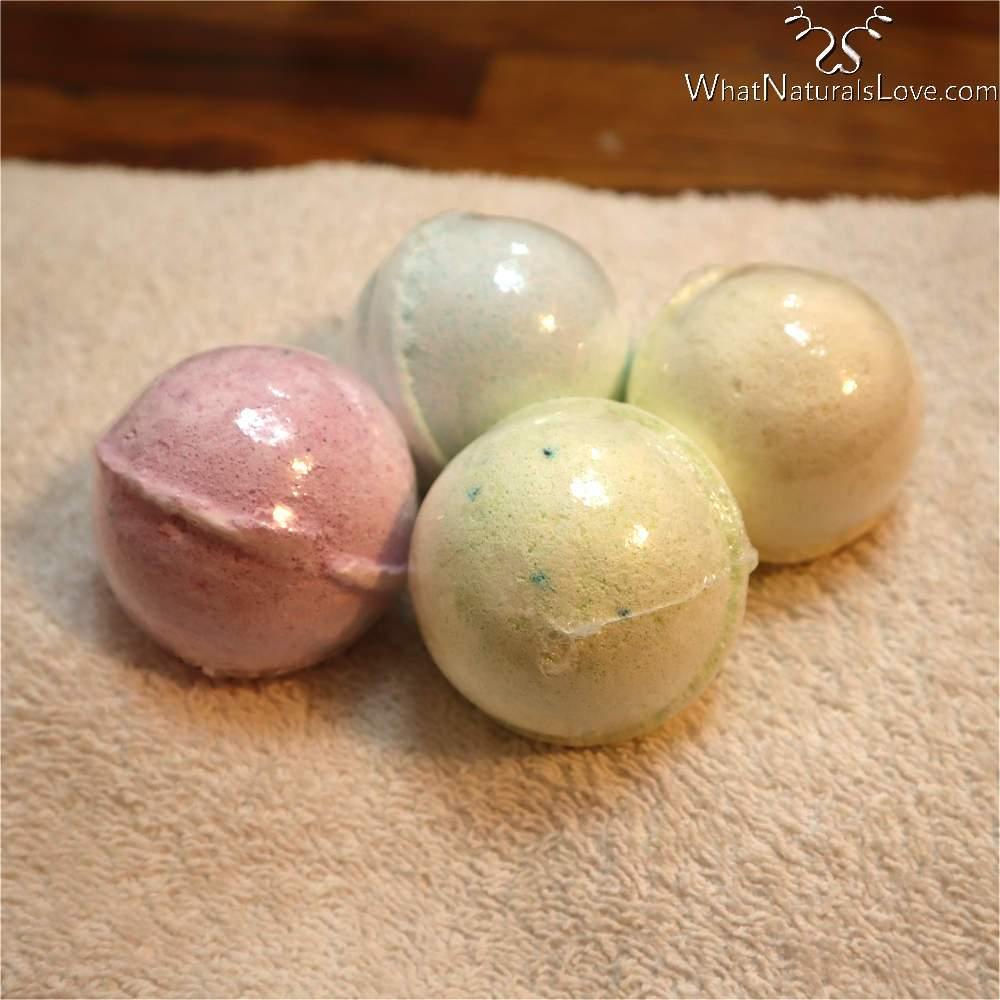 Organic Shampoo Bombs for Locs and Natural Hair