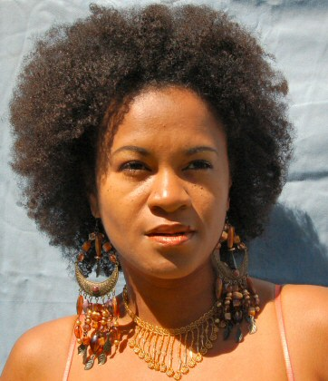 Mireille Liong Going natural with an Afro